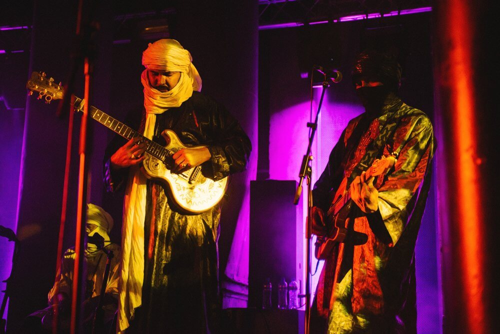 Tinariwen concert in Maassilo Rotterdam (credits: Parcifal Werkman)
