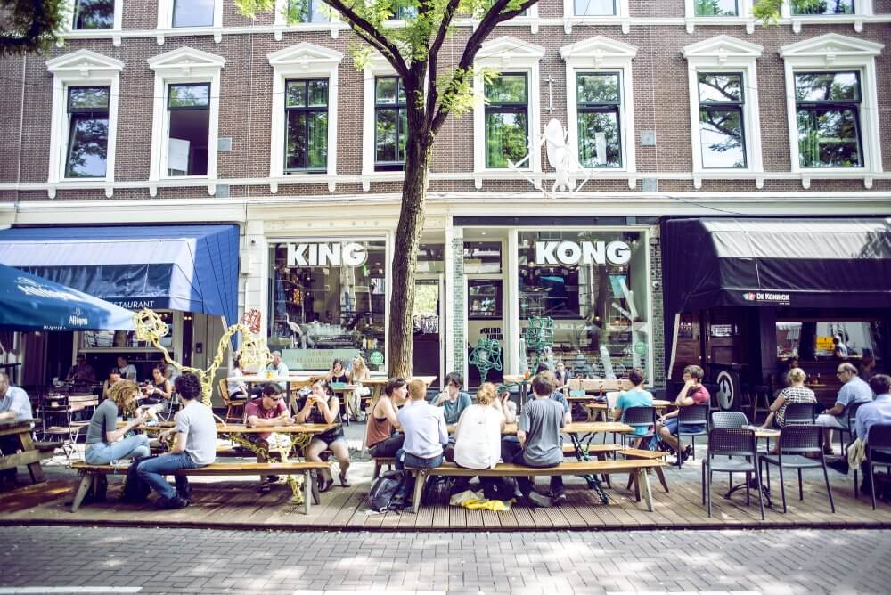 King Kong Hostel Rotterdam - slapen tijdens Motel Mozaique Festival