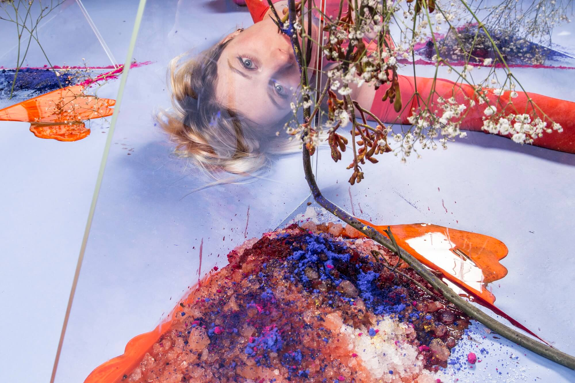 The Landscape Project #1 van Rosalie Wammes / Oh Thunder op Motel Mozaique - c - Sarah Dona