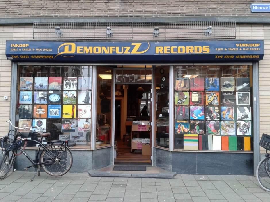 Demonfuzz - platendraaier - Motel Mozaique