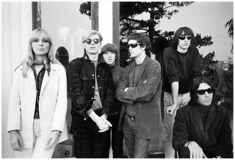The Velvet Underground Nico Lou Reed John Cale Andy Warhol